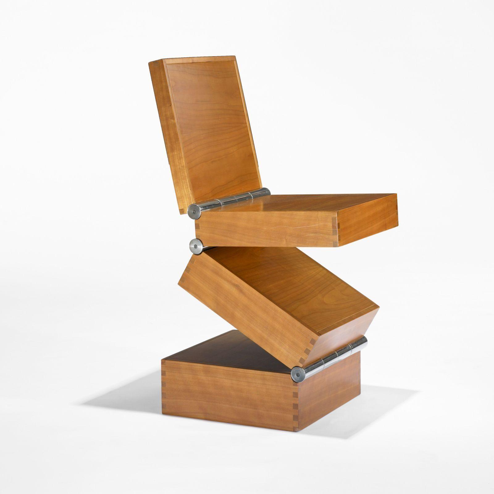 Ron Arad Box In Four Movements Prototype Wood Working Design  # Muebles Raros Del Mundo