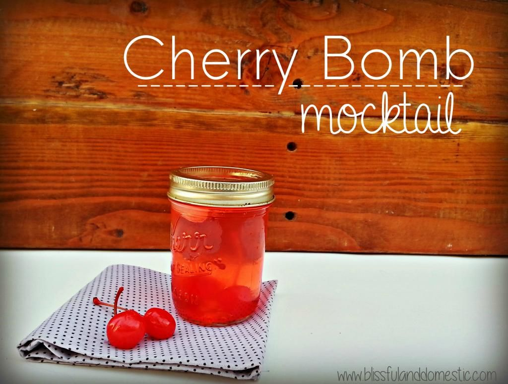 cherry bomb mocktail are you looking for a yummy drink to share