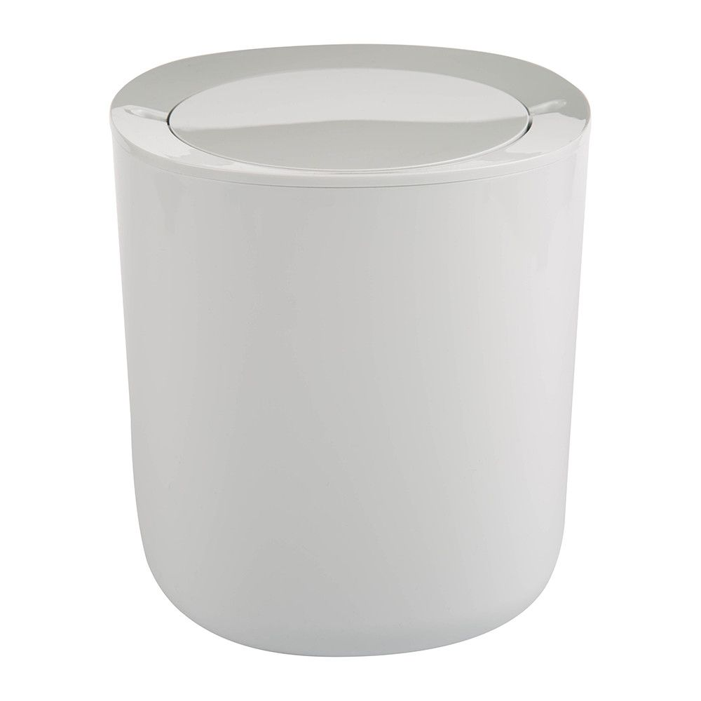Superieur Buy Alessi Birillo Bathroom Trash Can   White | Amara