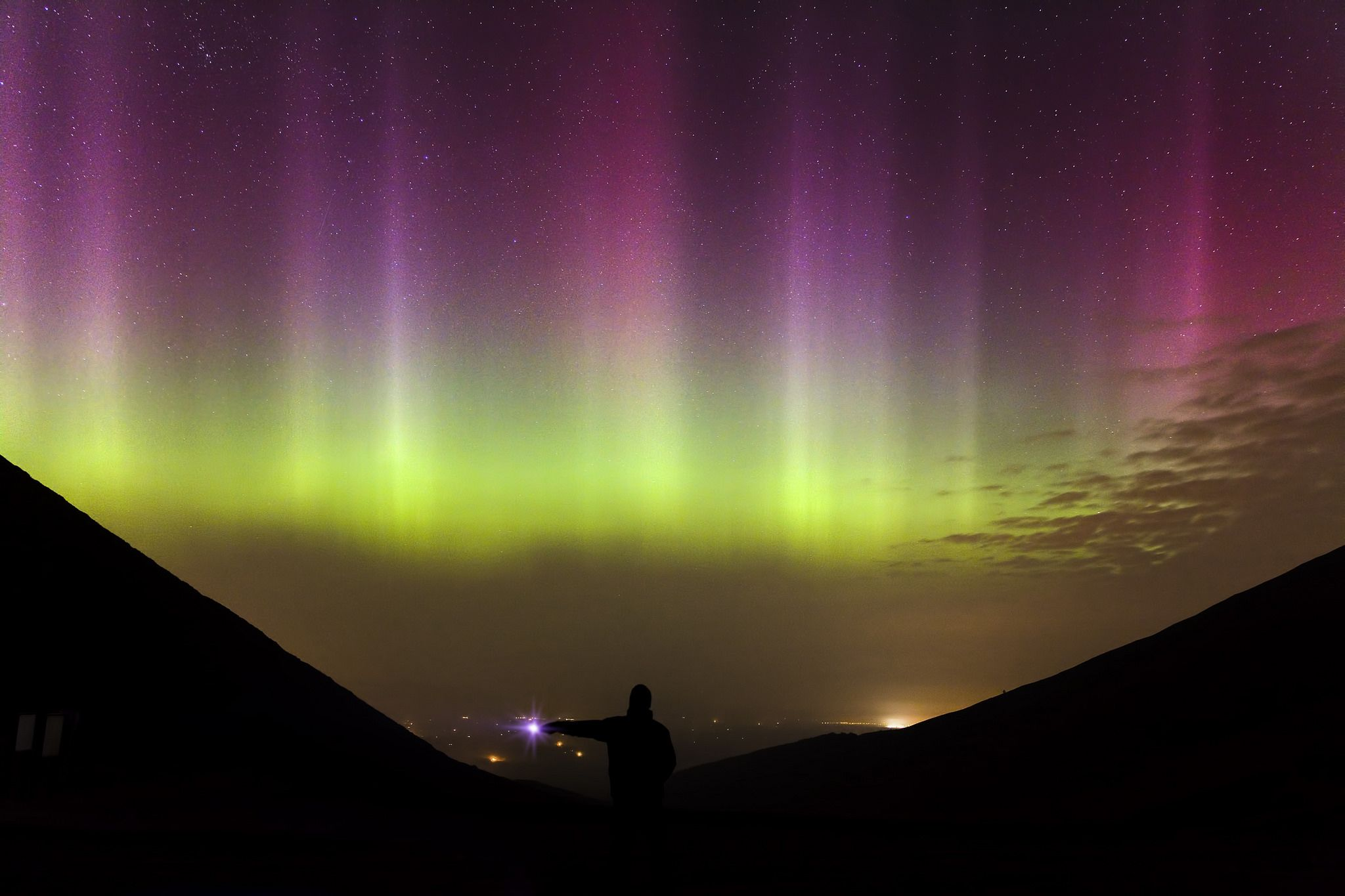 https://flic.kr/p/rLW16p   Aurora Borealis   St. Patrick's Day 2015 will be one that wil live in the memory. The biggest geomagnetic storm of the current cycle took place and most of Europe was treated to a dramatic Northern Lights display. As I was in Cork, a cunning plan was necessary. An afternoon studying weather charts etc lead me to chose a place 1,902 feet above sea level in the Knockmealdown Mountains on the Tipperary/Waterford border. The gamble paid off and at 2300 the cloud and…