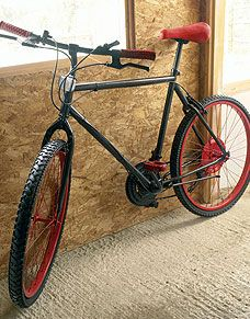 Re Cycle Your Bicycle You Can Spray A Bike With Spray Paint Like