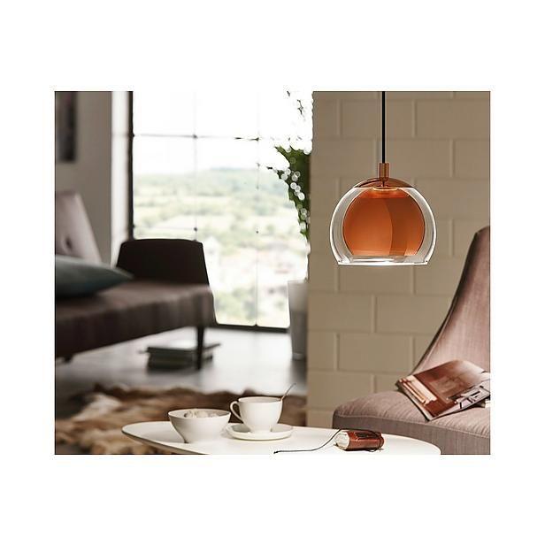 Rocamar Copper And Glass Single Pendant: Eglo Rocamar Hanglamp? Bestel Nu Bij Wehkamp.nl