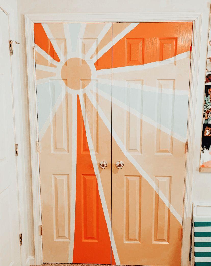 Pinterest Nylaaelizabeth Closet Doors Painted Painted Bedroom Doors Bedroom Art Painting
