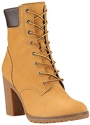Timberland Earthkeepers Glancy Hiker Boots Lace Ankle Boots High Heel Boots Ankle Boots