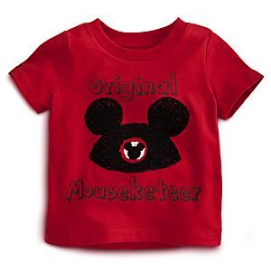 Disney The Mickey Mouse Club Tee for Baby - Mickey | Disney StoreThe Mickey Mouse Club Tee for Baby - Mickey - Your ''Original Mouseketeer'' gets his first pair of ears on this official club tee made for The Mickey Mouse Club's newest recruit. It's soft and comfy in organic cotton. Why? Because we like you!