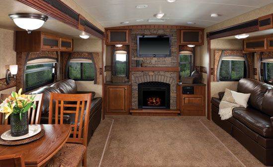Love The Living Space In This Jayco Eagle Travel Trailer Jayco