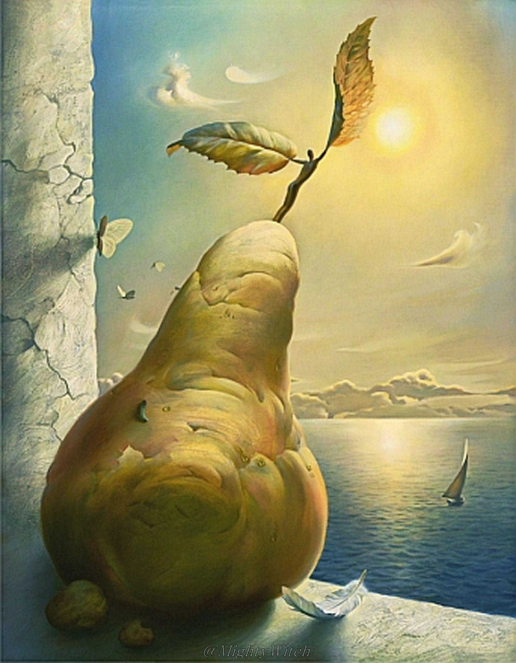 Icarus by Vladimir Kush.