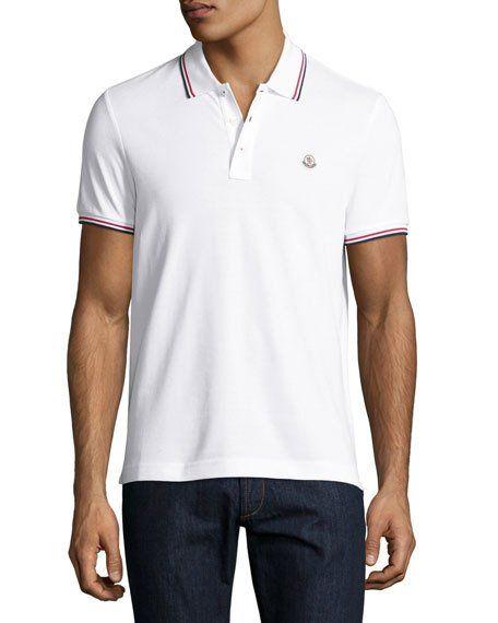 dc5f55743b64 Tipped PiquÉ Polo Shirt