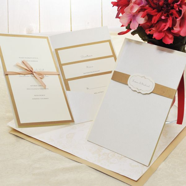 DIY DoitYourself Printable Wedding Invitation Kits DIY Projects