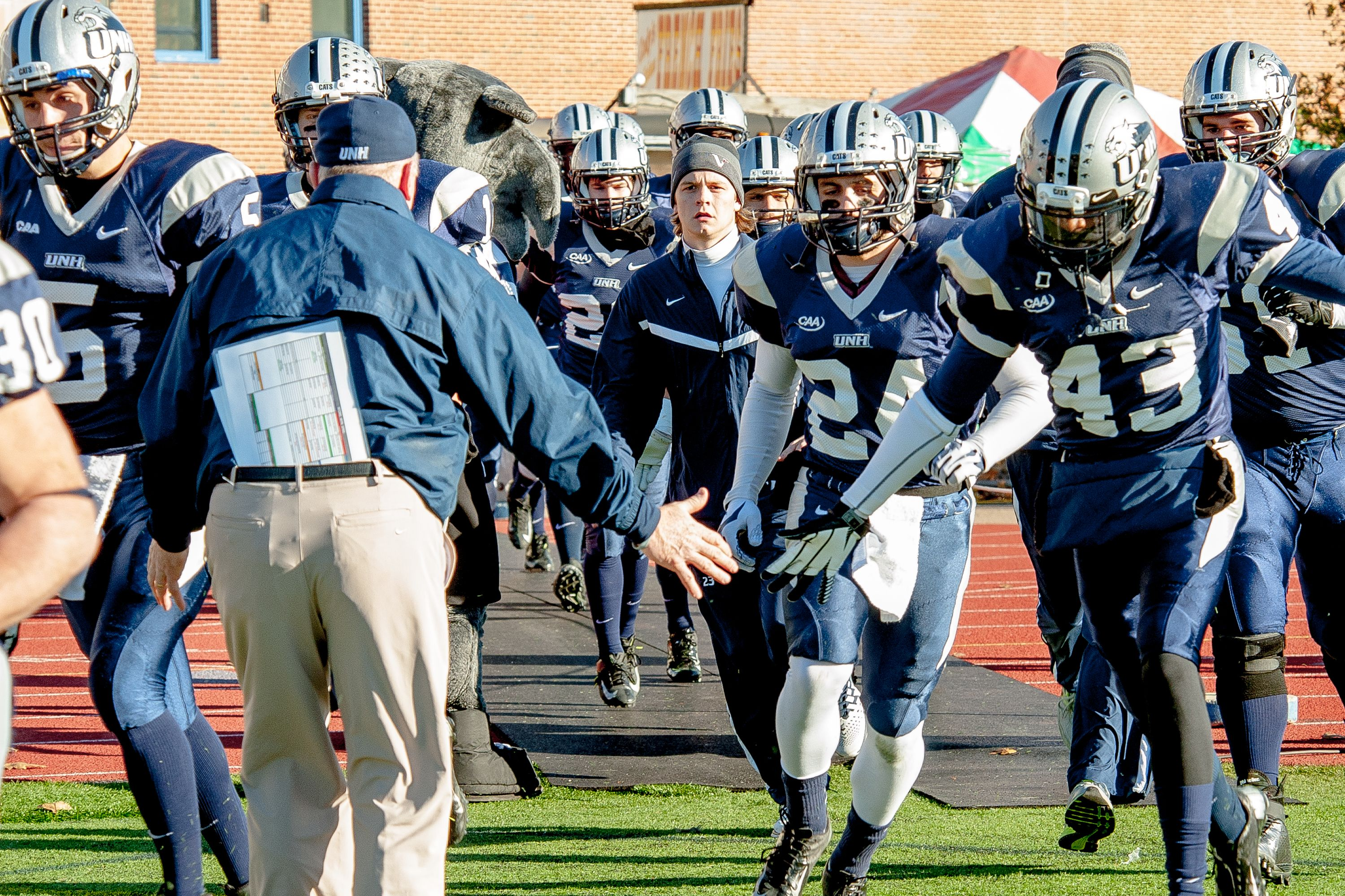 Unh Football Makes The 2013 Playoffs And Opens Up At Home With A Win