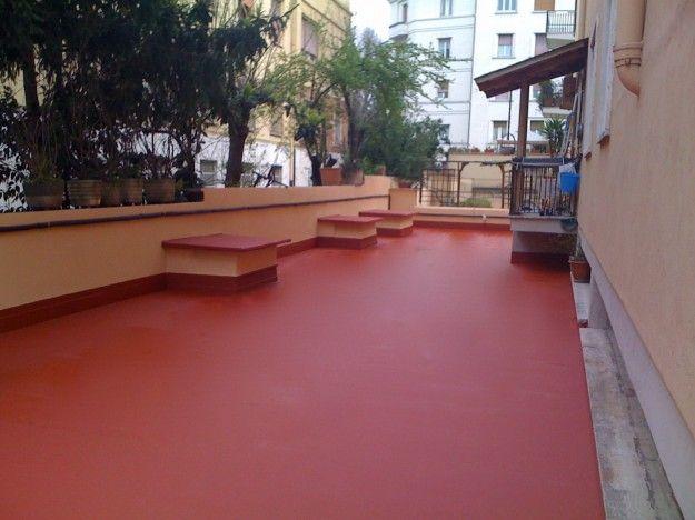 Come pavimentare un terrazzo - Pavimento impermeabile | Terrazzo
