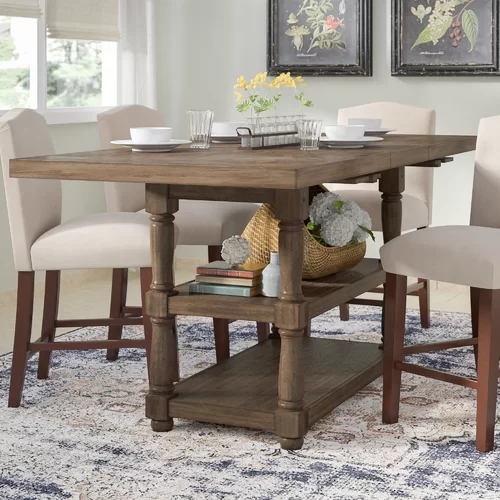 Perfect Square Wood Dining Table White 8 Seater Square Dining