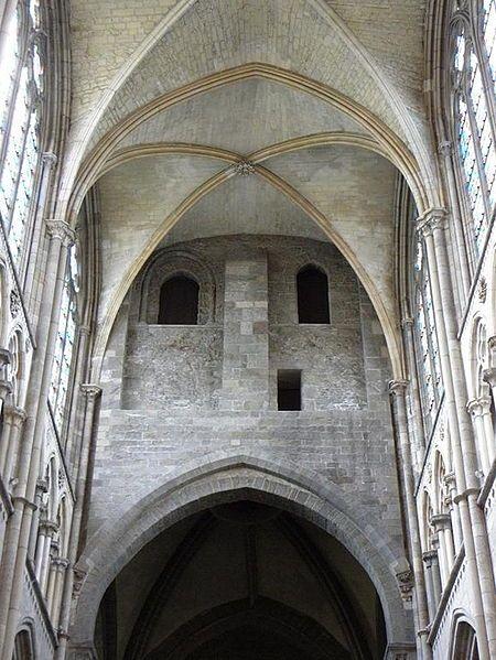 Cathédrale St-Vincent - Voûtes
