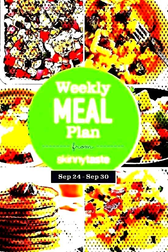 A free 7-day flexible meal plan including breakfast, lunch and dinner and a shopping list. All reci