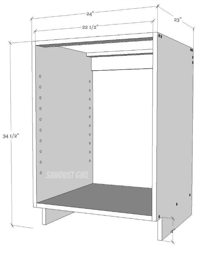 Easiest way to build a cabinet | Cabinets | Pinterest | Vitrinas