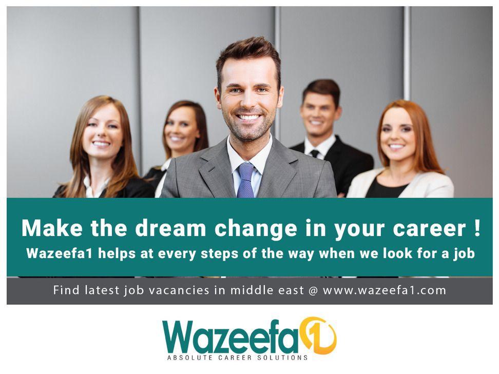 Wazeefa1 Com The Best Jobportal For Finding Latest Middleeast