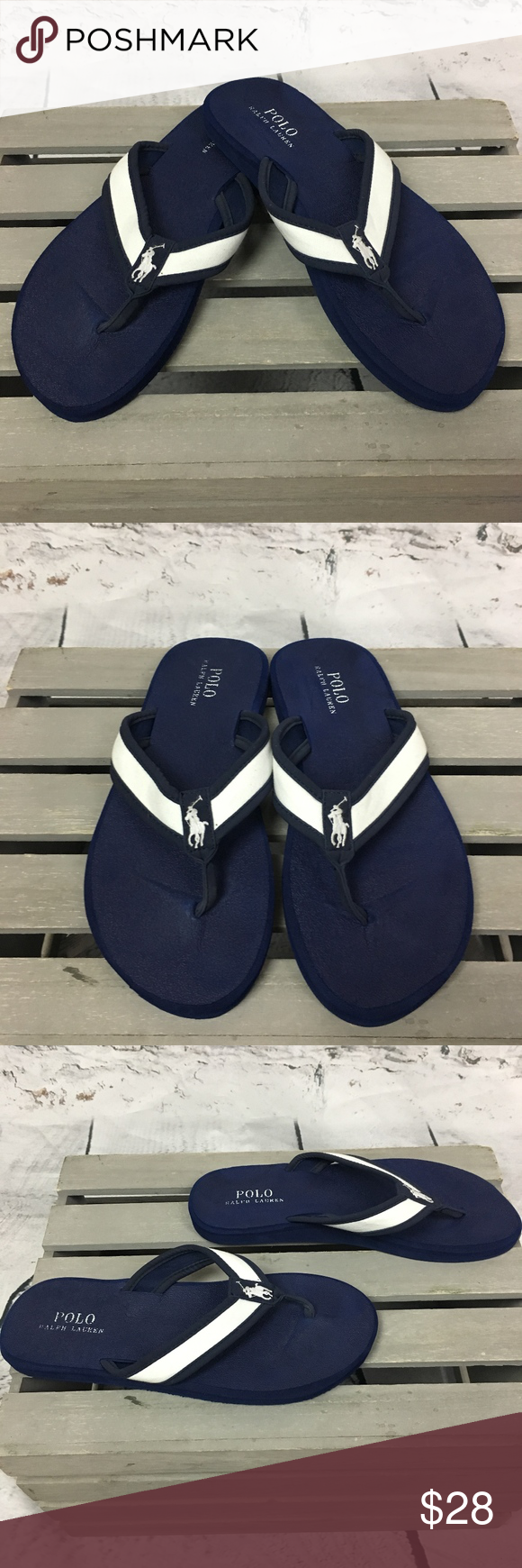 3393983f96cab Polo Ralph Lauren Almer II Mens Flip Flop Sandals Polo Ralph Lauren Almer  II Mens Flip Flop Sandals Preloved in excellent condition Size 10 Bundle  and save ...