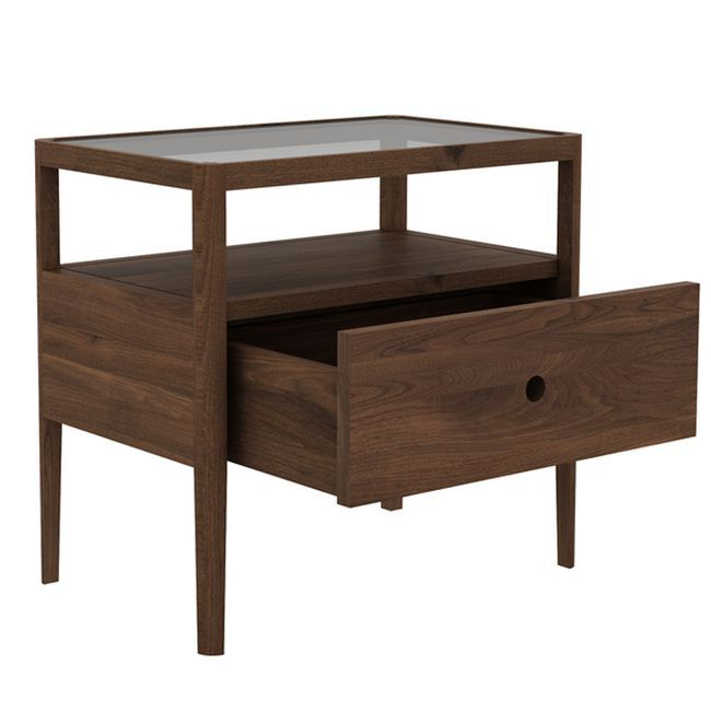spindle bedside table by ethnicraft