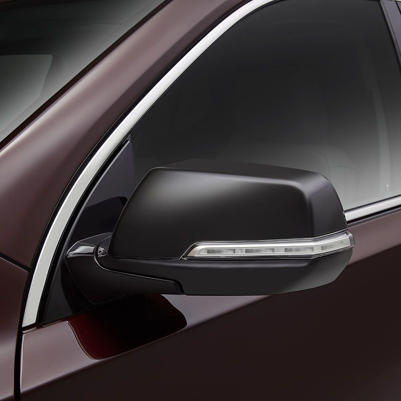 Enhance The Exterior Appearance Of Your Traverse With These Black Outside Rearview Mirror Caps This S Chevrolet Accessories Rear View Mirror Chevrolet Traverse