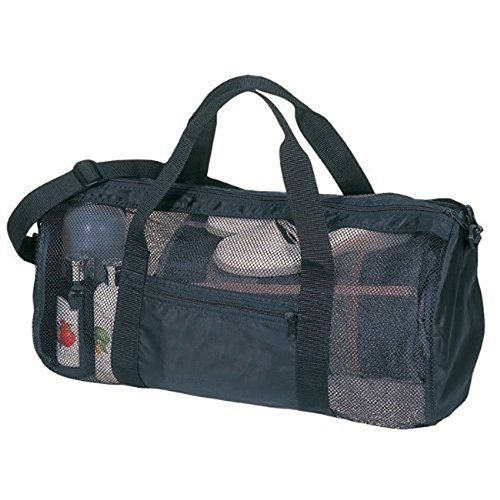 8ab242e79d67 SDI Sport Gym Mesh Roll Bag Black -- Visit the image link more details.