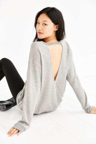 Silence + Noise Surplice Back Pullover - Urban Outfitters