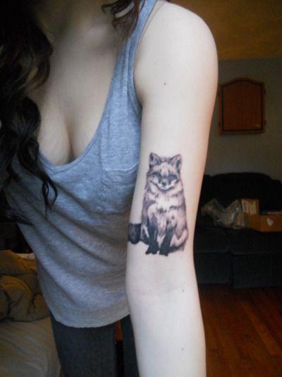 love fox tattoos