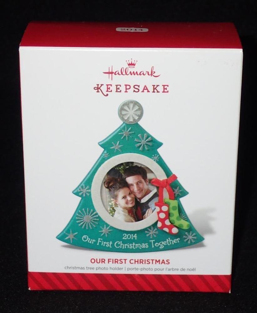 Hallmark Our First Christmas Ornament.Hallmark Keepsake 2014 Our First Christmas Photo Holder