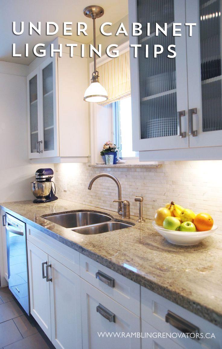 Diy Under Cabinet Lighting Rambling Renovators  Under Cabinet Lighting Tips  Home Creations