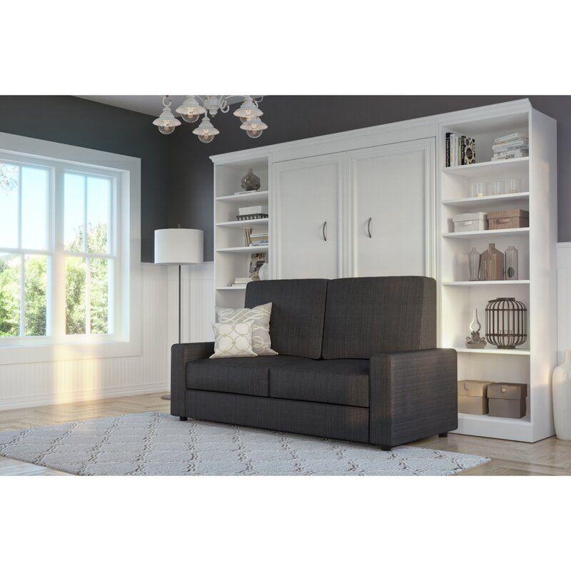 Augie 4-Piece Storage Murphy Bed Set In 2020
