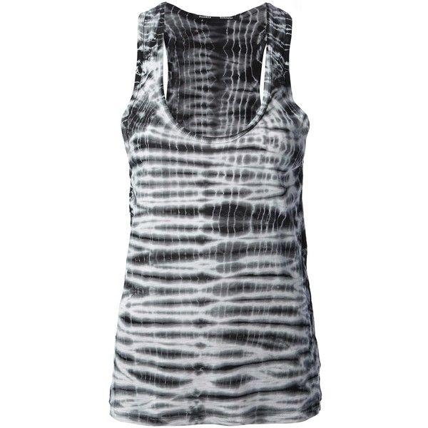 4df9d313c6566 Proenza Schouler tie dye vest top (157 CAD) found on Polyvore featuring  women s fashion