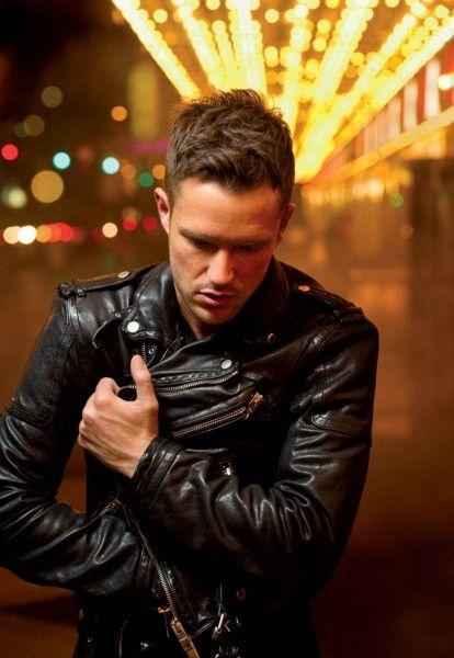 Brandon Flowers and the biker jacket