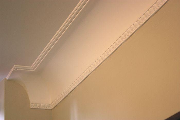 Esempio di cornice in gesso a soffitto (con immagini