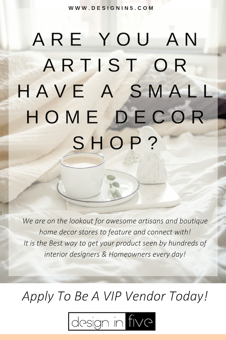 We Are Looking For Artists Artisans Small Home Decor Businesses