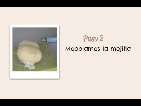 Paso 04 - Modelamos la boca - Muñeca Angy - YouTube