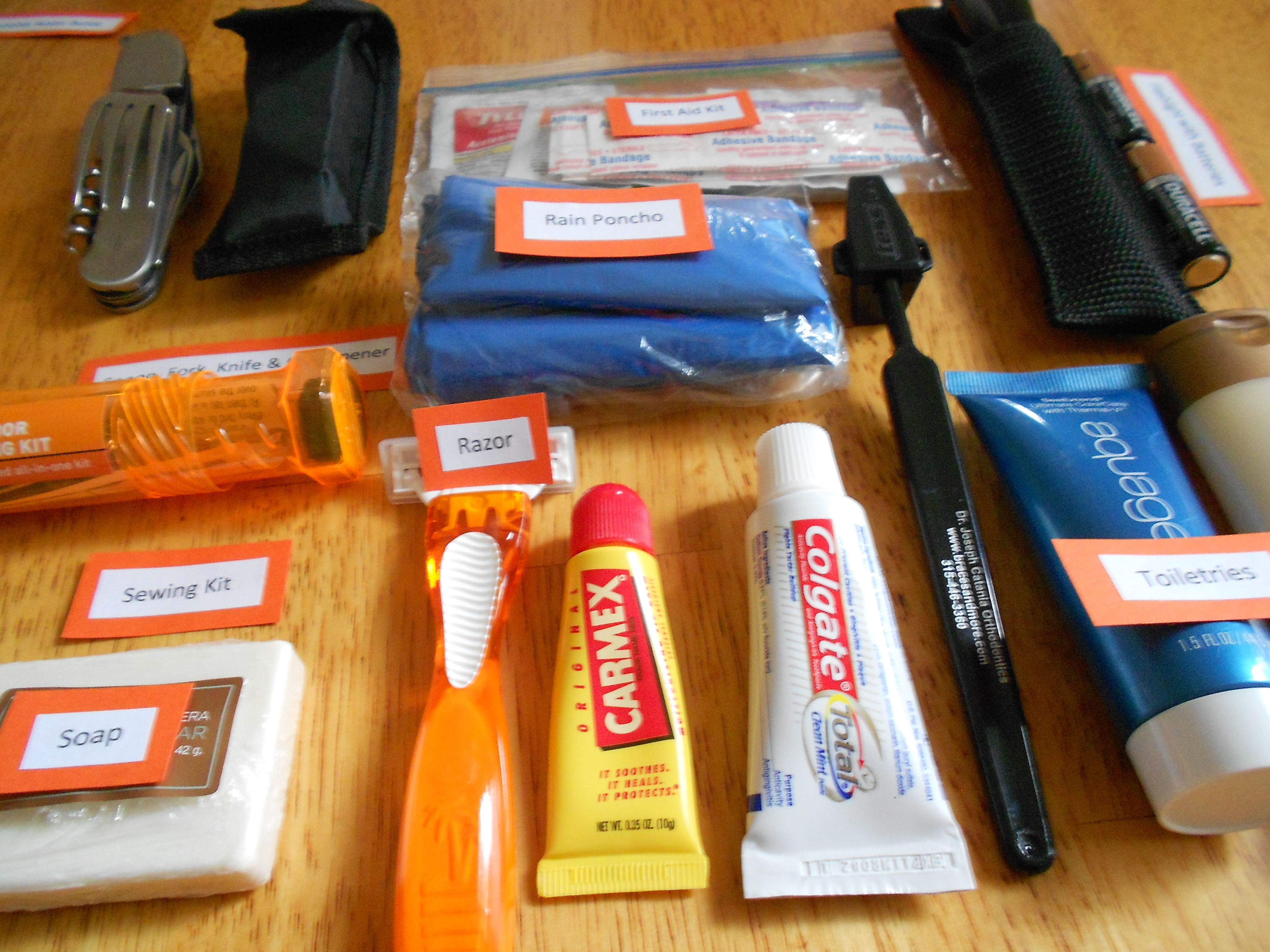 Toys For The Homeless : Items to include in a homelessness survival kit more at