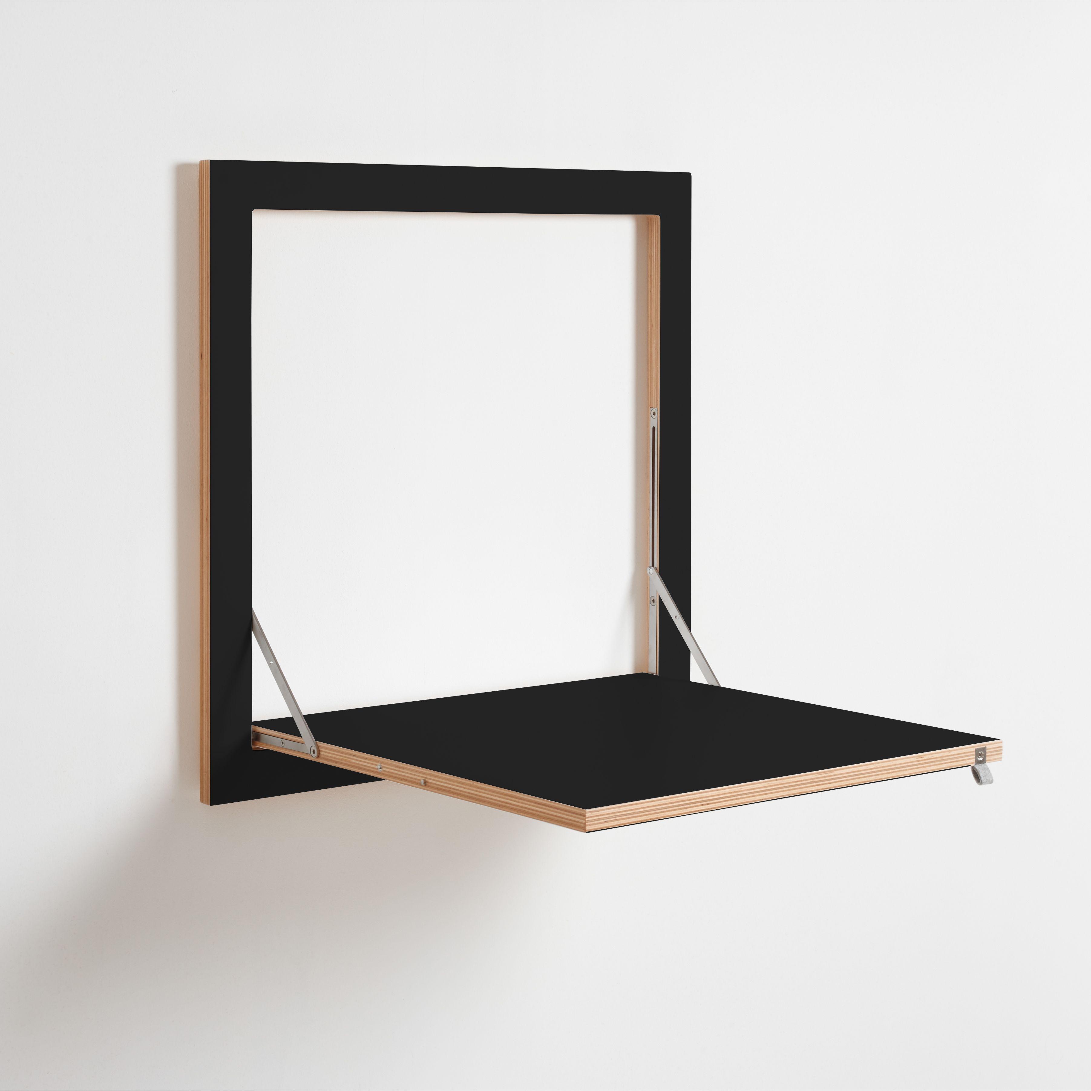 Flapps Kittchen Tisch 60x60 1 Schwarz Wandtisch Tisch Und