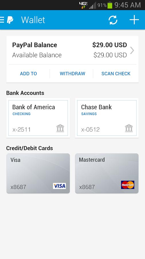 Paypal Payments UI Pinterest Ui ux