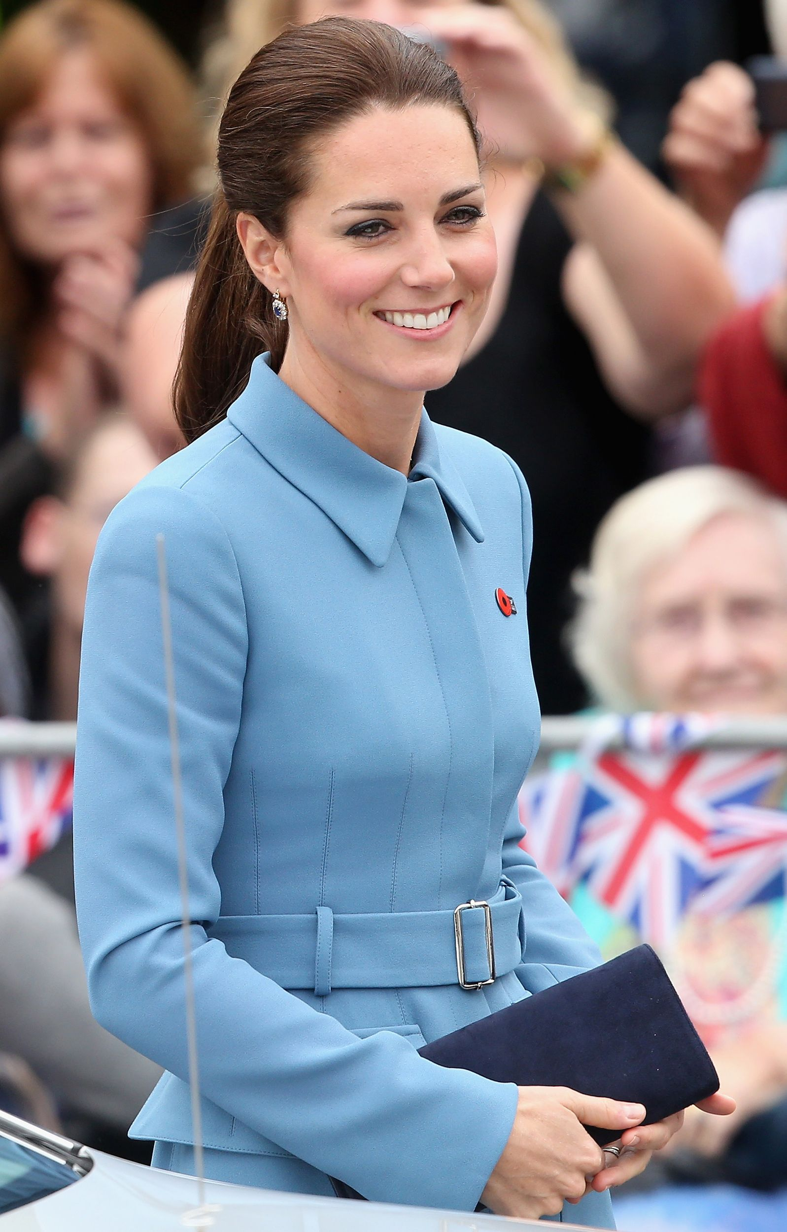 Kate in Alexander McQueen | All the stunning looks of Kate Middleton's tour down under http://aol.it/1rtBxhy