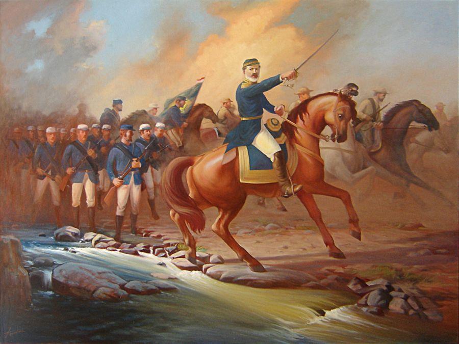 Pin Em Paraguayan Great War