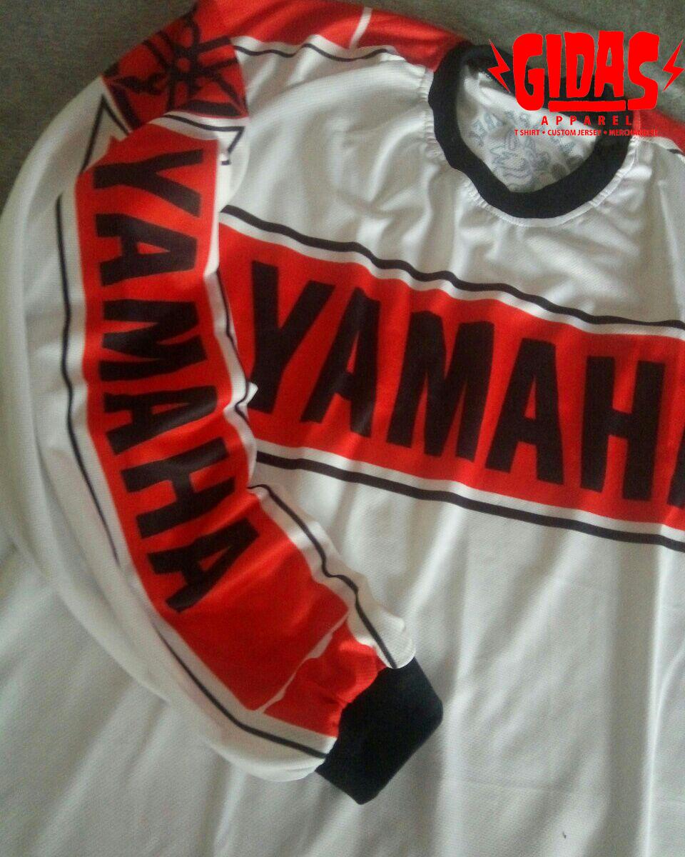 Gidas Apparel Custom Jersey Vintage Motocross Jersey Whatsapp 082137240629 Email Gidasapp Gmail Com Yamaha Vinta Vintage Jerseys Mx Jersey Vintage Motocross