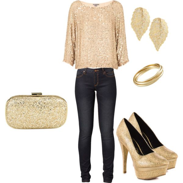 Heart of Gold, created by jvictoria10 on Polyvore