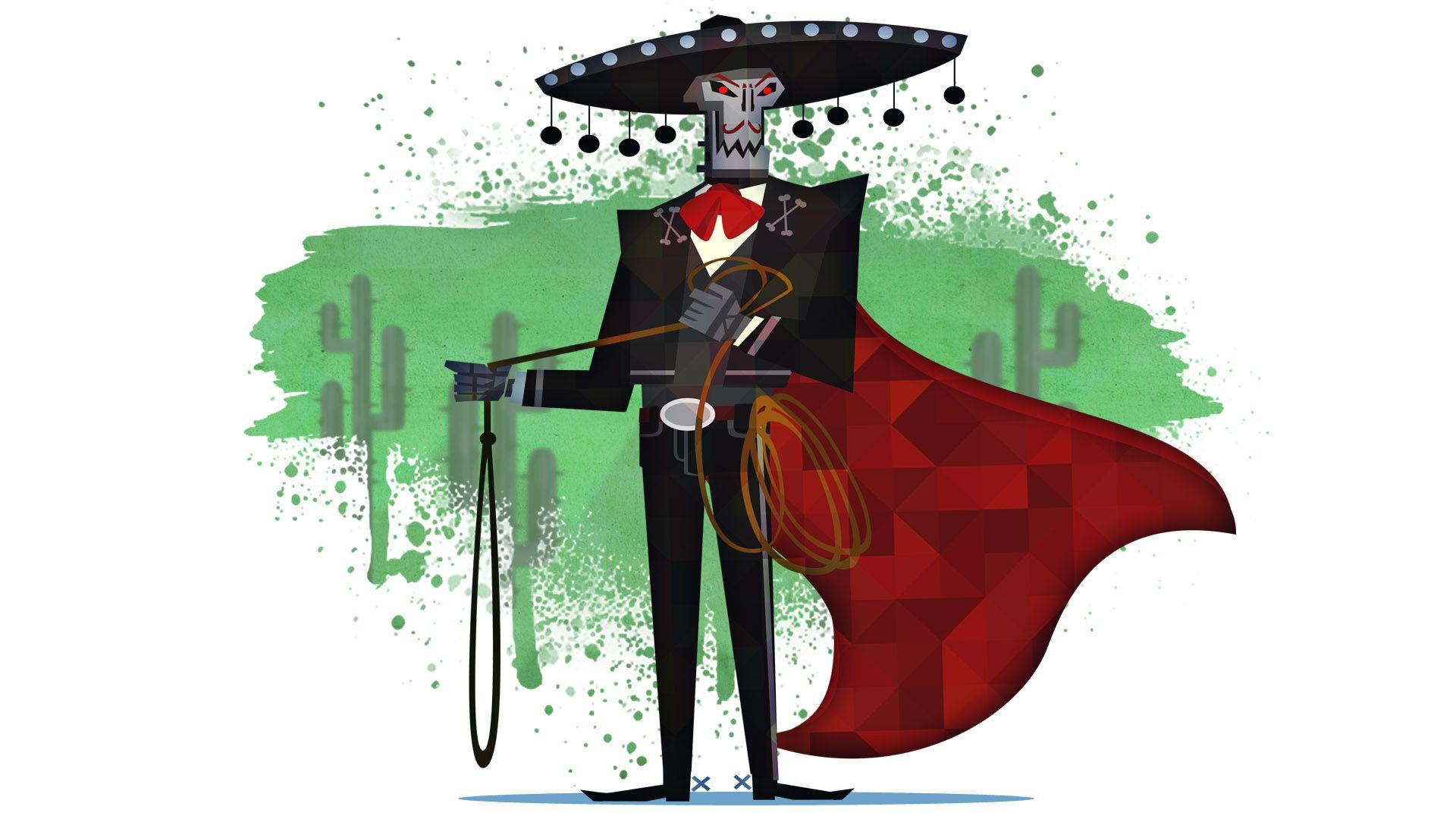 Carlos Calaca Guacamelee 2d Game Art Game Concept Art Adventure Picture