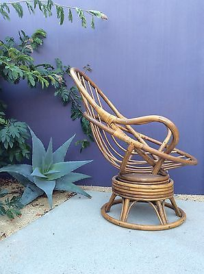 Pleasant Details About A Fabulous Bamboo And Rattan Rocking Arm Chair Caraccident5 Cool Chair Designs And Ideas Caraccident5Info