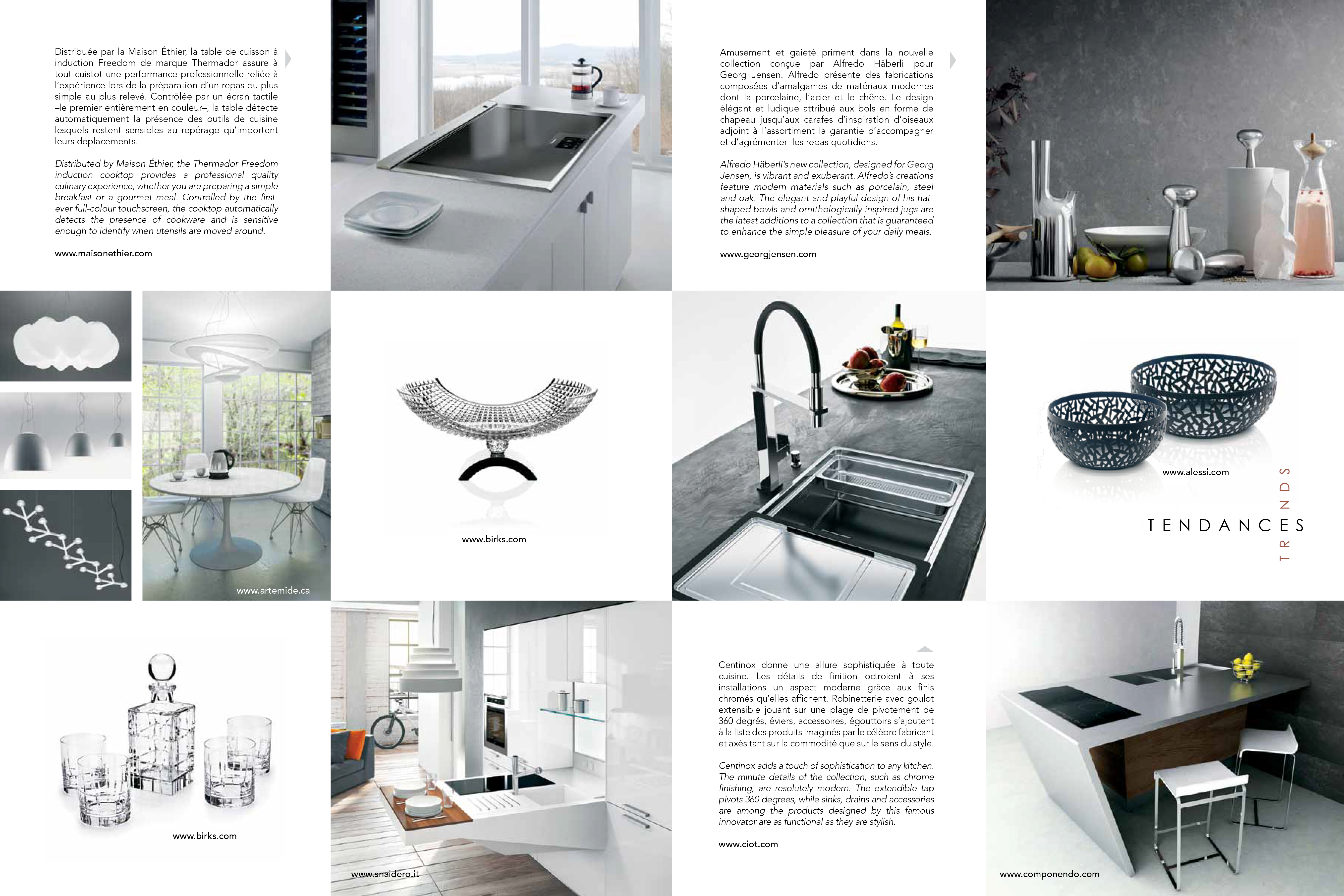 2012 Prestige design magazine   Tendances Cuisines   KITCHEN TRENDS ...