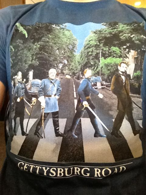 I bought this shirt when me and my class went to Gettysburg, u can't pass this up!