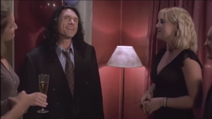 Okay All Right Thank You Thank You The Man Behind This Marvel Tommy Wiseau The Room Is A 2003 American Independent Drama Film Greg Sestero Drama Film Fiance