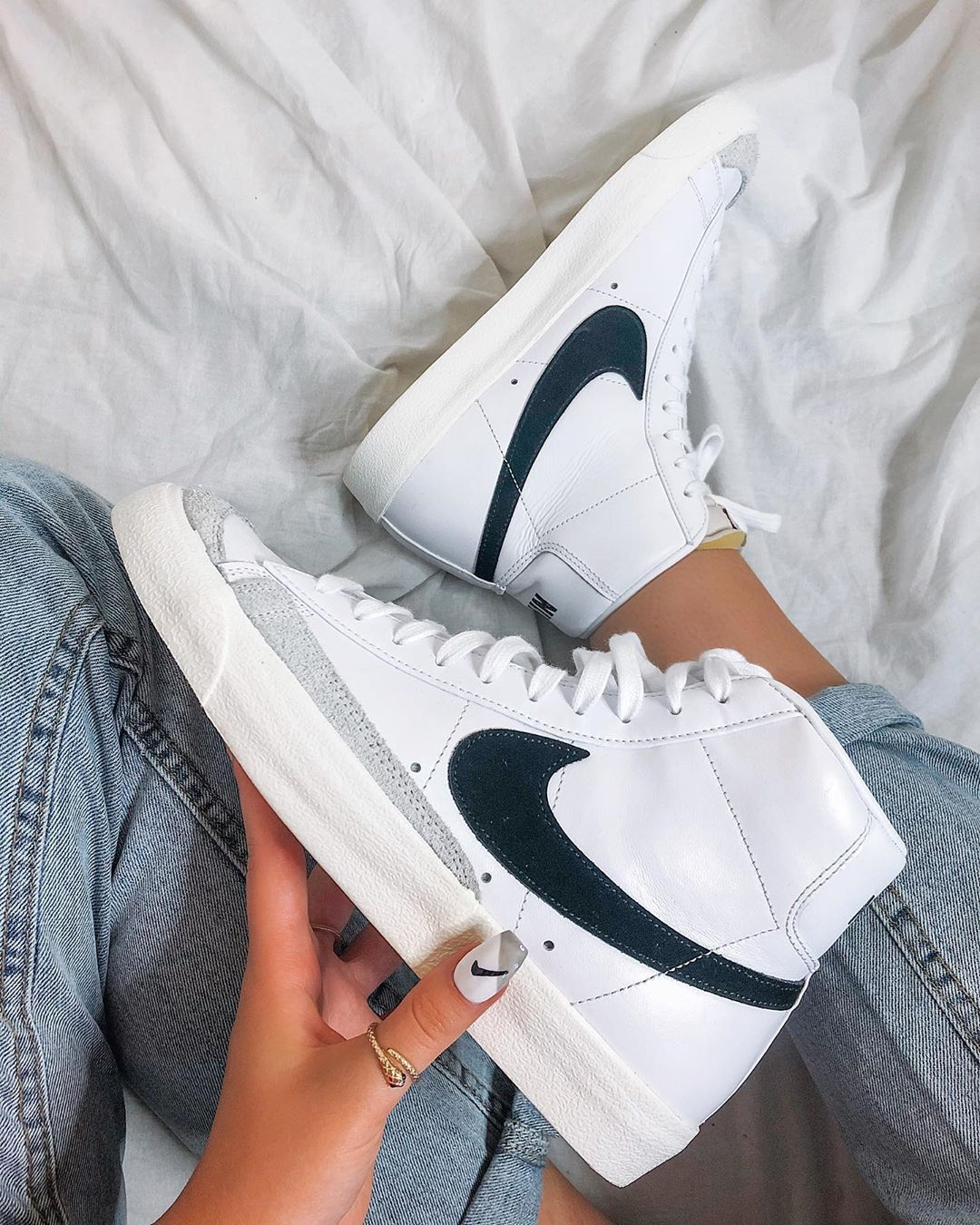 """T A S H A on Instagram: """"new shoes make me happy / @nike ..."""