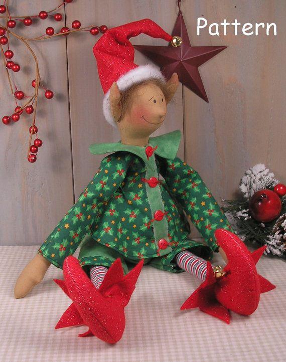 Christmas Elf Sewing Pattern Christmas Ideas Pinterest