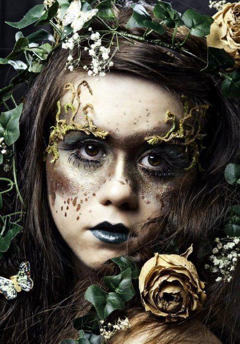 Spring Fairy Makeup Cuteness Overload Fairy Makeup Woodland Fairy Makeup Faerie Makeup
