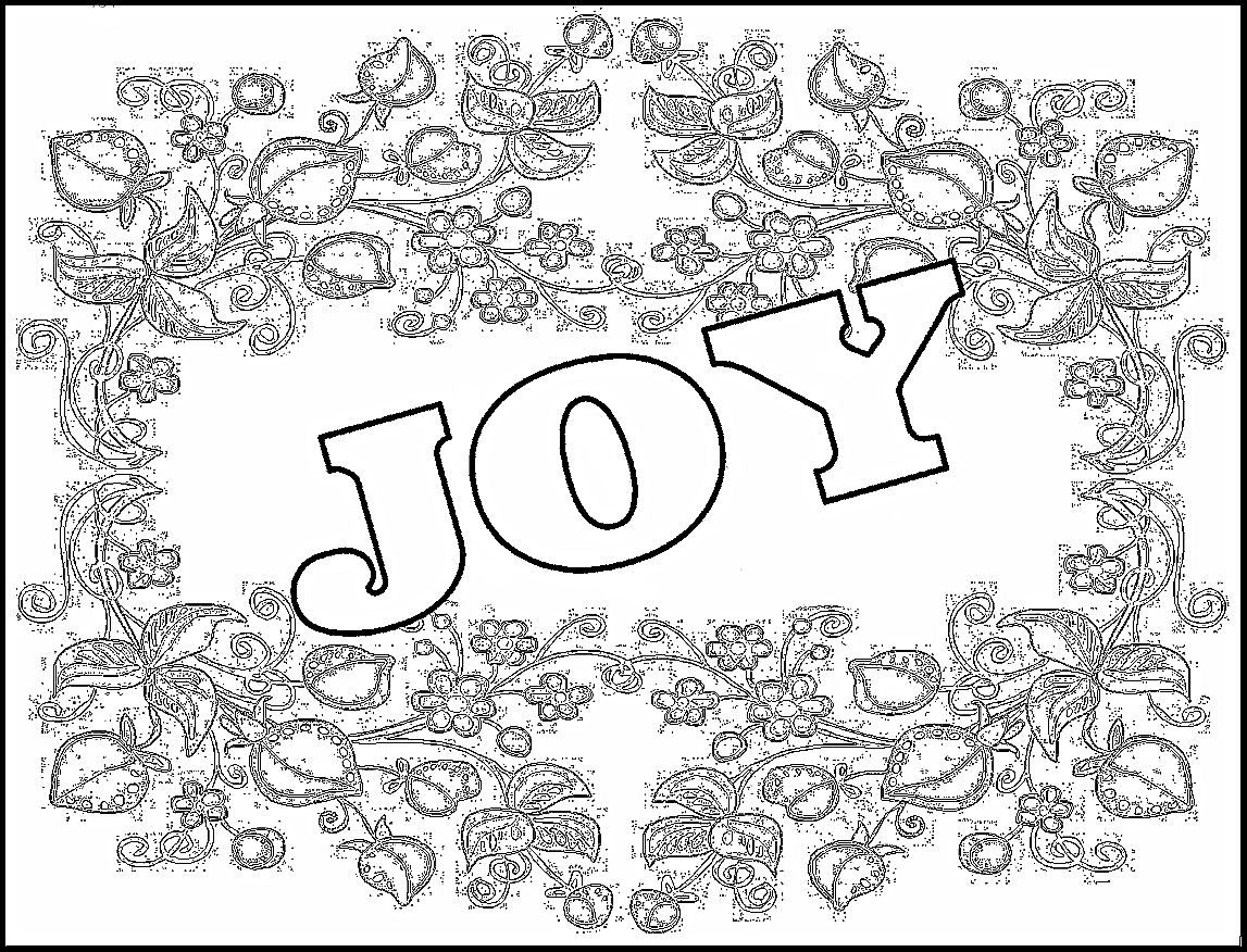 new year\'s coloring pages | Childrens Gems In My Treasure Box: Joy ...